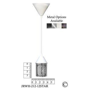 Jezebel Gallery Illuminart Star 1-Light Drum Pendant