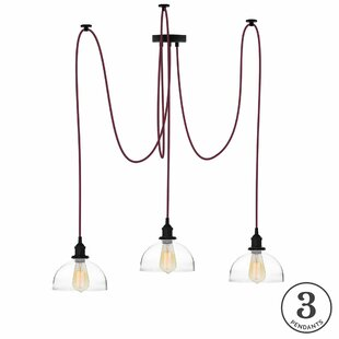 Ian 3-Light Cluster Pendant by 17 Stories