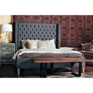 Gracie Oaks Webb Queen Upholstered Sleigh Bed
