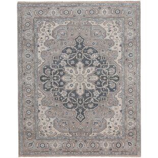 Biltmore Hand-Knotted Beige/Gray Area Rug By Capel Rugs