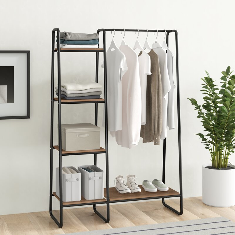 "Dillon 39.8"" W Garment Rack"