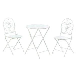 Ophelia & Co. Grace-Ann Patio 3 Piece Bistro Set