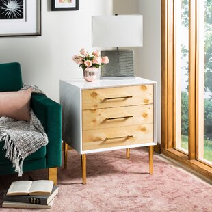 Coral Sea Beetlewood End Table by Foundry Select