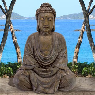 Meditative Buddha Of The Grand Temple Garden Statue Image