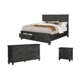 Gutshall Platform 3 Piece Bedroom Set by Gracie Oaks