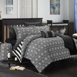Paris 10 Piece Full Comforter Set
