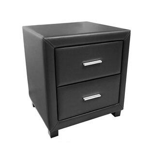2 Drawer Bedside Table By Mercury Row