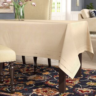 Goudy Handmade Double Hemstitch Easy Care Tablecloth