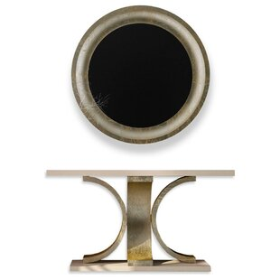 Laivai Console Table And Mirror Set by Everly Quinn Find