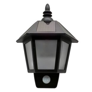 Look for 0.9' LED Outdoor Wall Lantern By Elegant Home Fashions