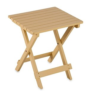 Hedison Adirondack Folding Table by August Grove Fresh