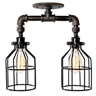 Baca 2-Light Semi Flush Mount ..