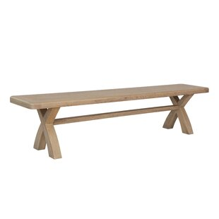 Liesel Wood Bench By House Of Hampton
