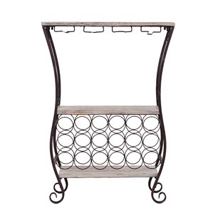 Andria 18 Bottle Floor Wine Rack by Wildon Home ?