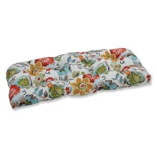 Outdoor Pillow Perfect Wicker Indoor/Outdoor Bench Cushion