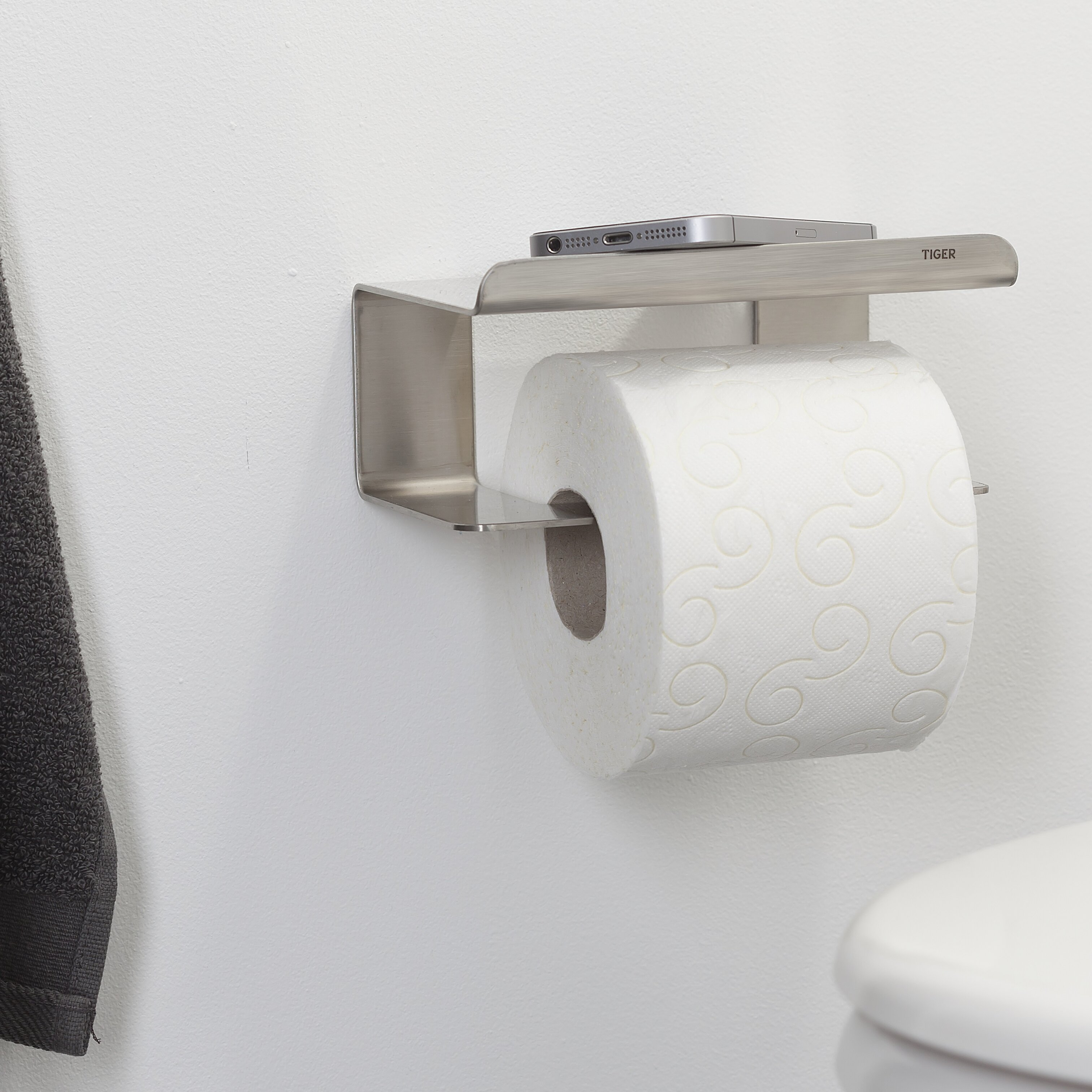 Tiger Wall Mount Toilet Paper Holder