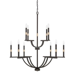 Brayden Studio Jamil 10-Light Chandelier