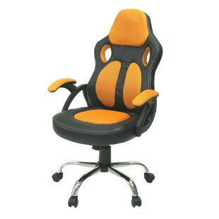 Ebern Designs Encinas Gaming Racing Style Swivel Office Chair