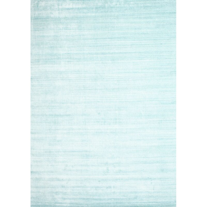 East Urban Home Contemporary Sky Blue Area Rug Wayfair