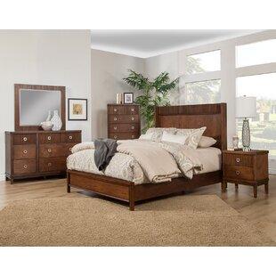 Brayden Studio Sanmiguel Panel Configurable Bedroom Set