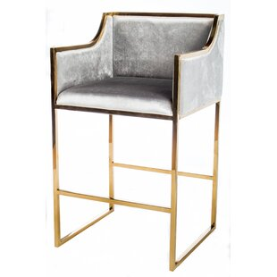 Erin Gold Bar Chair by Statements by J