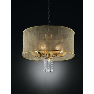 Cedar Leaf 5-Light Chandelier