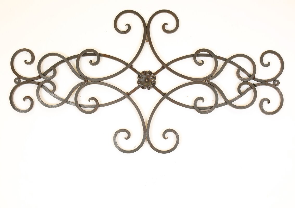 Wrought Iron Scroll Wall Decor Myamigosimports Hearts Scroll Iron Door Topper Wall Decor