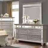 Rosdorf Park Jacey 7 Drawer Double Dresser