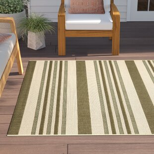 Larson Beige/Green Indoor/Outdoor Area Rug