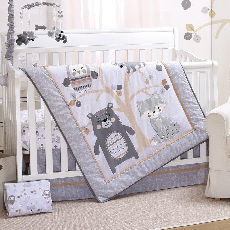 Woodland Baby Bedding Sets.Dildy 3 Piece Crib Bedding Set