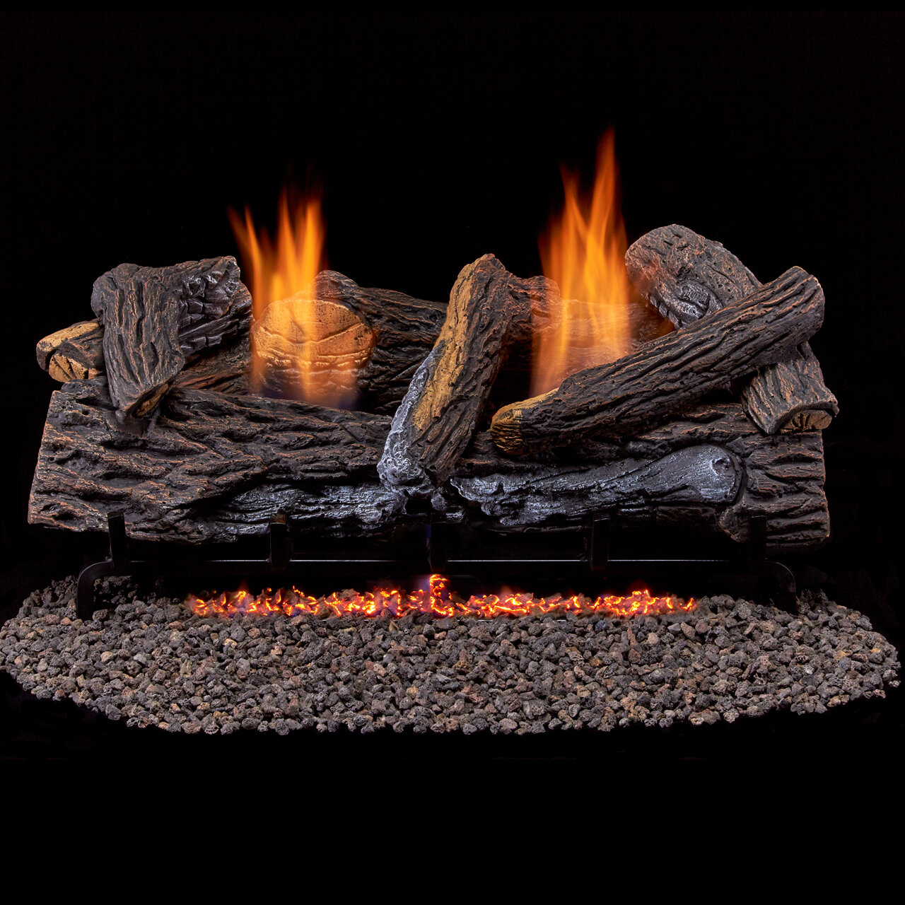 Duluth Forge Vent Free Propane Natural Gas Logs Reviews Wayfair