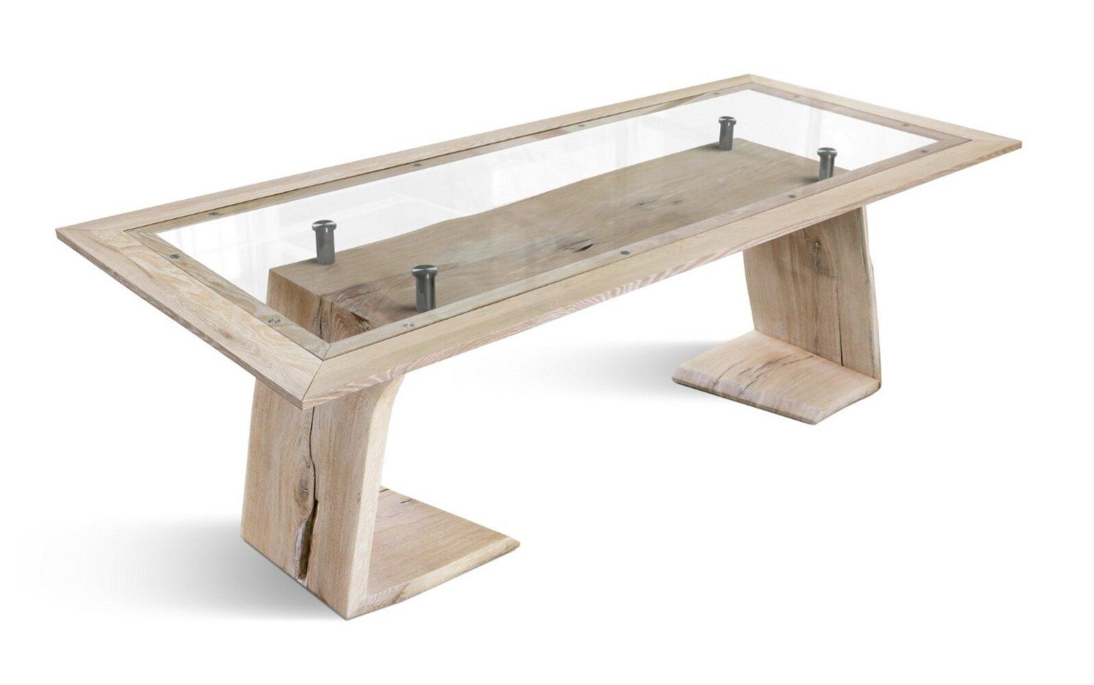 Union Rustic Shevlin Solid Wood Dining Table Wayfair
