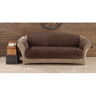 Deluxe Pet Box Cushion Sofa Slipcover by Sure Fit Spacial Price