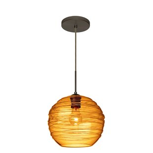 Besa Lighting Wave 1-Light Globe Pendant