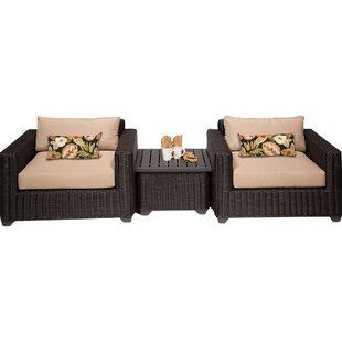 Fairfield 3 Piece Conversation Set with Cushions