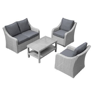 Griffithville Garden Sofa With Cushions Image