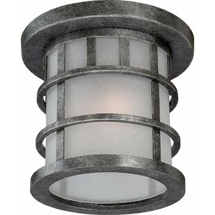 Millwood Pines Sweeten Outdoor Flush Mount