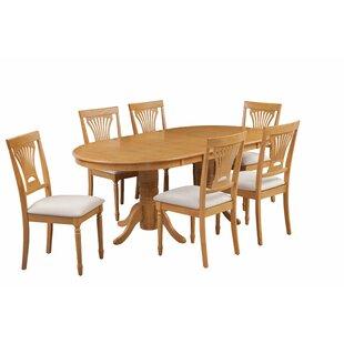 August Grove Devitt 7 Piece Extendable Dining Set