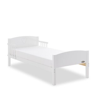 Heart Toddler Bed With Removable Rails By Obaby