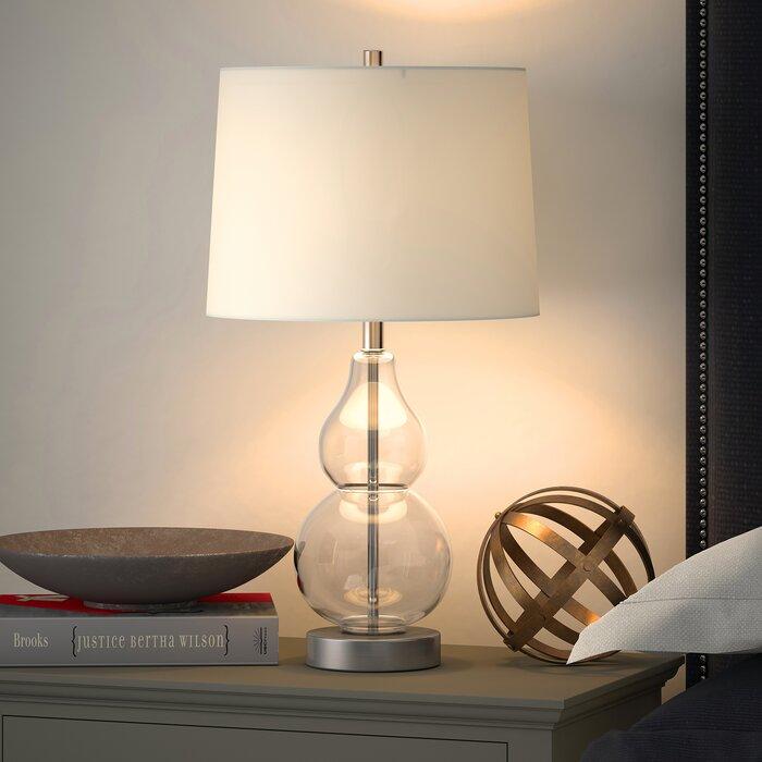 Wayfair Table Lamps >> Herold Double Gourd 21 Table Lamp