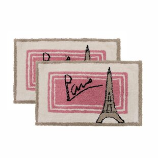 Paris Bath Rugs Mats You Ll Love In 2021 Wayfair