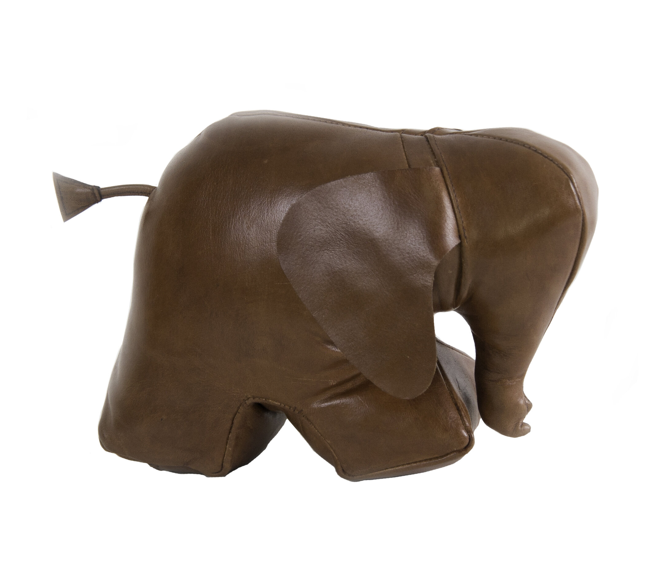 Authentic Models Elephant Leather Weighted Floor Stop Wayfair
