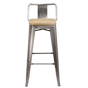 Mcsweeney Low Back 30 Bar Stool Williston Forge