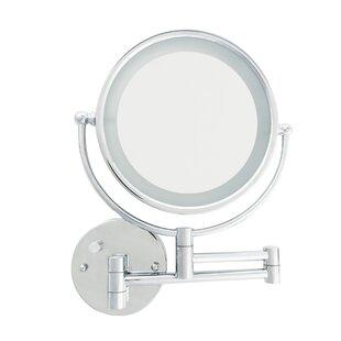 Danielle Creations LED Wall Mount Makeup/Shaving Mirror