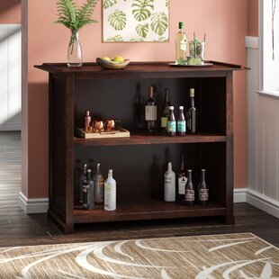 Meredith Bar with Wine Storage