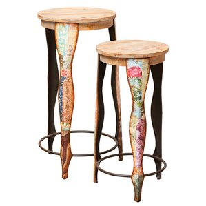 2 Piece Bella Bar Stool Set by Evergreen Enterprises, Inc