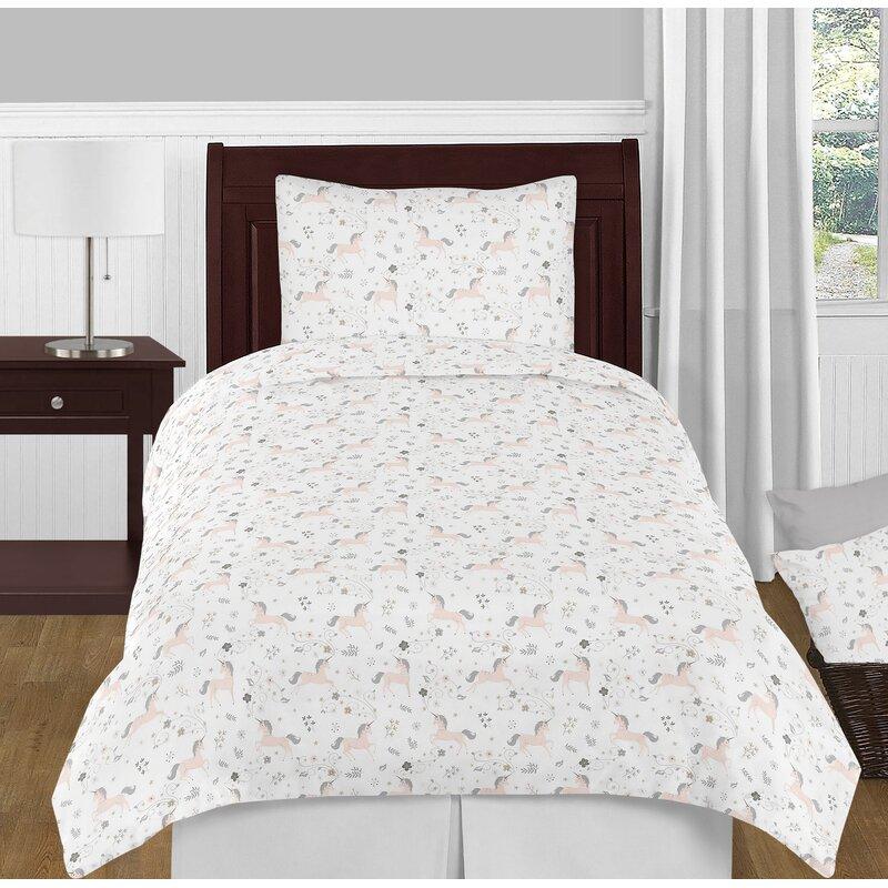fe933e7712 Sweet Jojo Designs Unicorn Comforter Set & Reviews | Wayfair