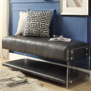 Best Serena Upholstered Storage Bench By Orren Ellis