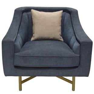 Lahey Armchair by Diamond Sofa