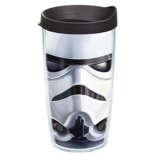Star Wars Storm Trooper Helmet Plastic Travel Tumbler By Tervis Tumbler